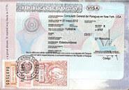 Toeristen visum Paraguay visa